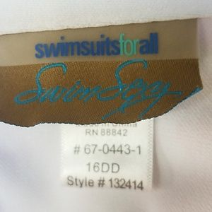 Swimsuits For All Swim - Gabi Fresh 22/16DD flamingo high waist suit